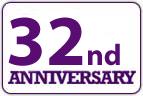 32nd anniversary