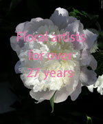 Floral artists for over 27 years