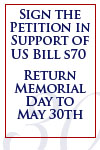 Sign the Petition in Support of US Bill s70