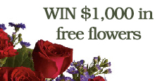 Win $1000 in free flowers
