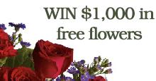 Win $1000 in free flowers