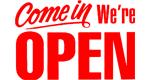 Come in were open!