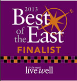 2013 Best of the East Finalist