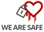 Safe from Heartbleed Bug
