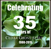 Cedar Grove Gardens 35th Anniversary!